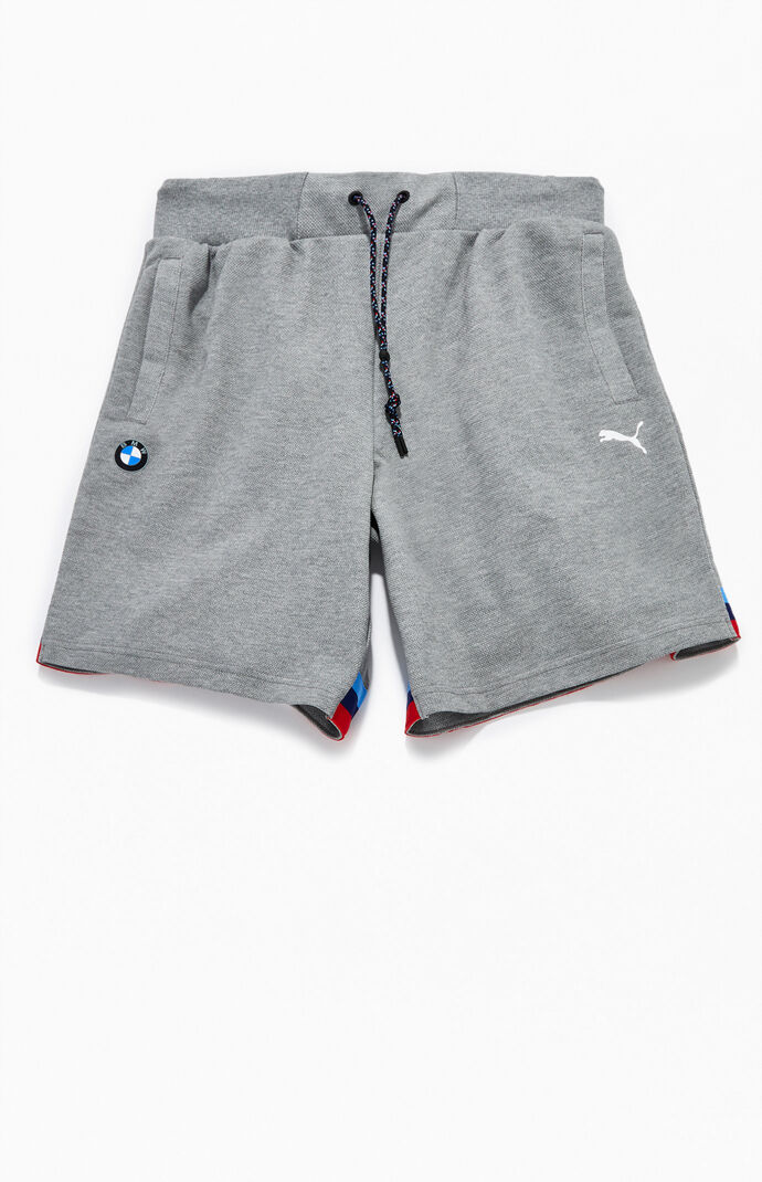 x BMW Gray MMS Life Sweat Shorts