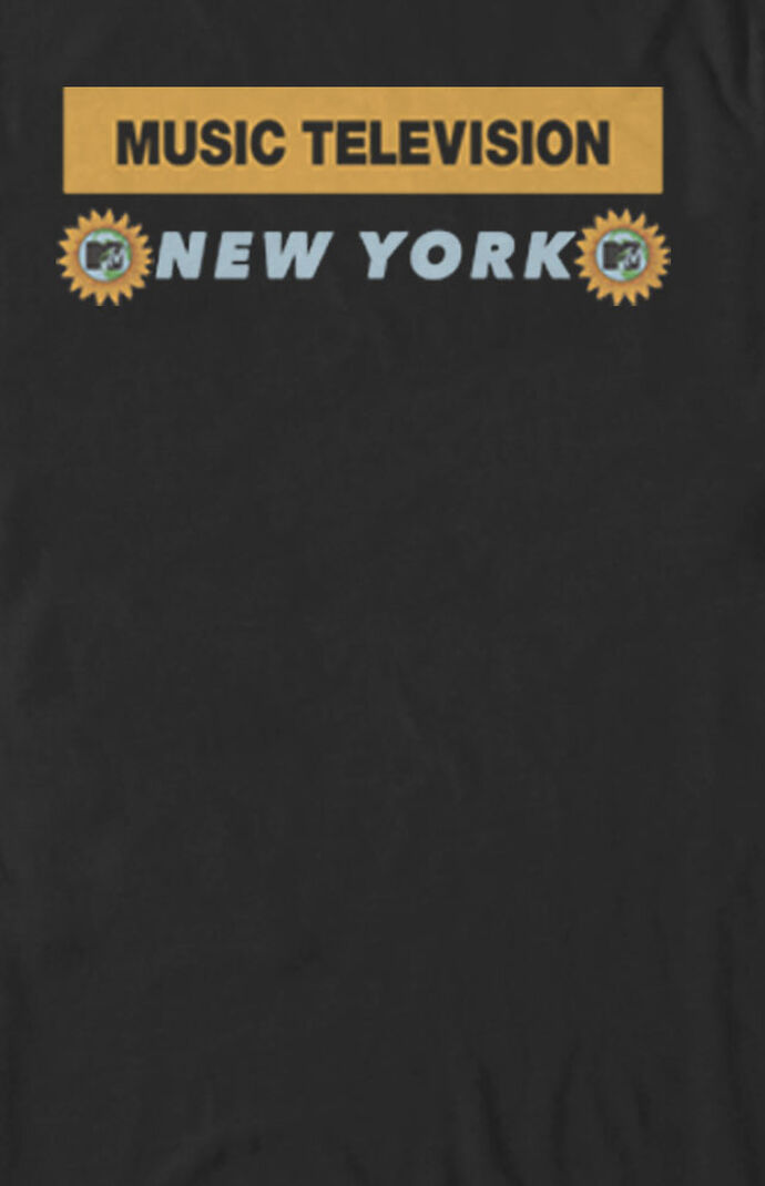 Sunflower Music MTV Logo T-Shirt