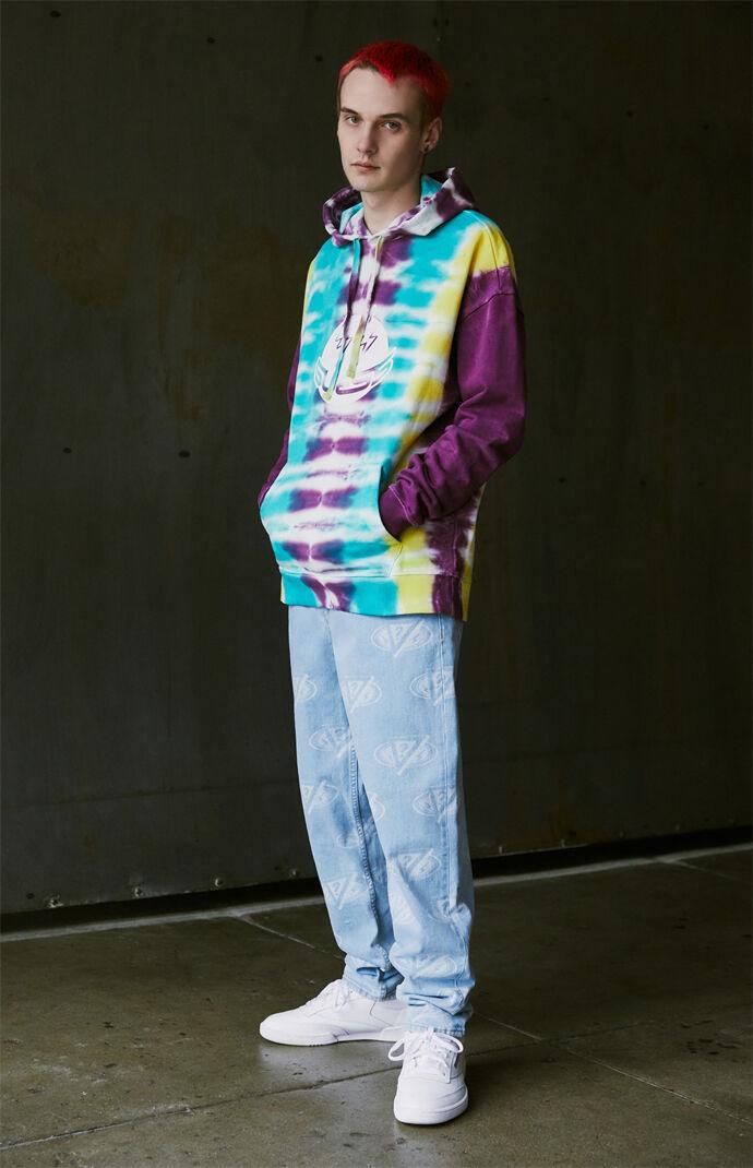 x J Balvin Tie-Dyed Hoodie