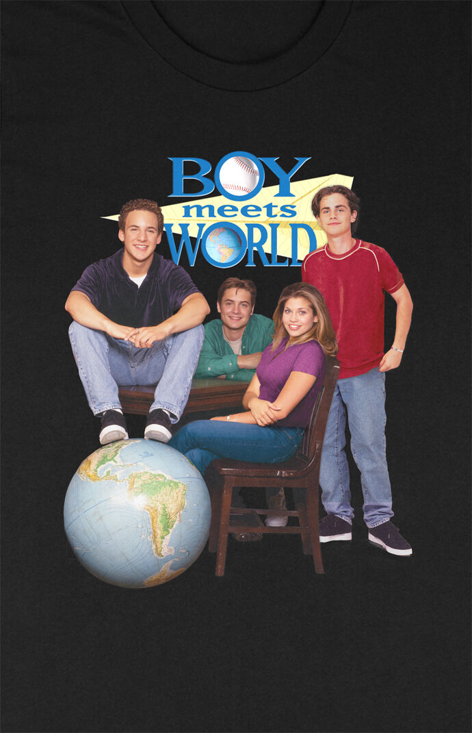Boy Meets World Poster T-Shirt