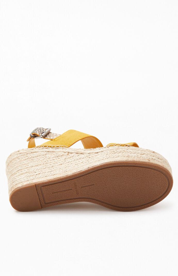 Spiro Platform Wedge Sandals