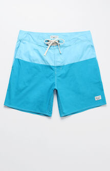 "Oragatory Colorblock 18"" Swim Trunks"