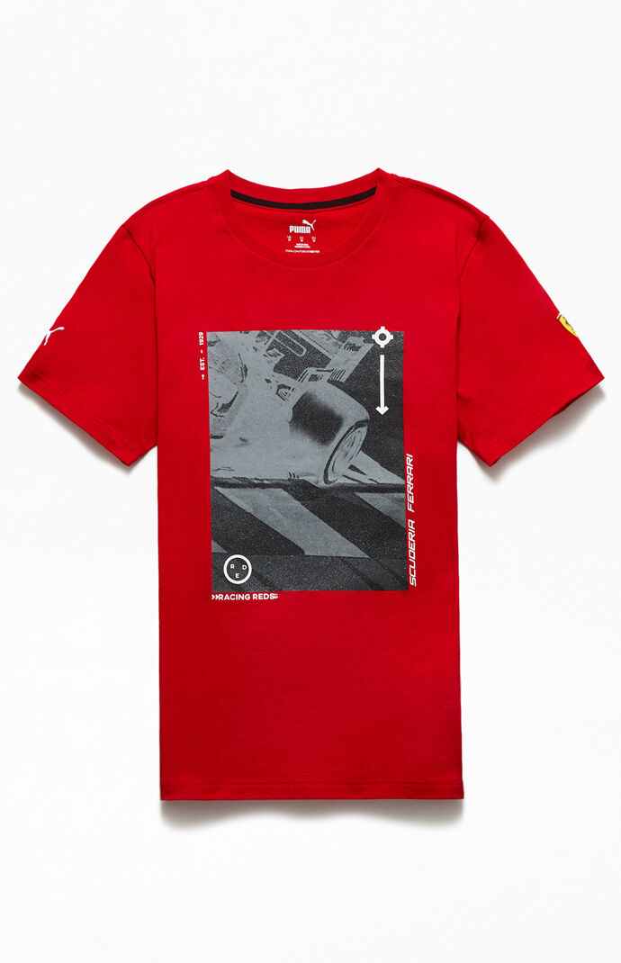 Ferrari Race Short Sleeve Graphic T-Shirt