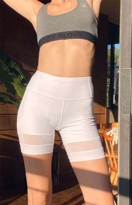 Pintuck Performance Shorts