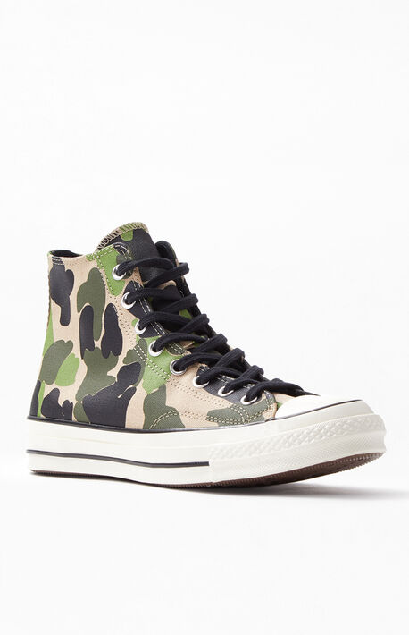 70a5694d121d Free Shipping   Returns. Camo Chuck 70 High Top Shoes