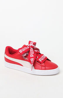 Women's Basket Heart Sneakers