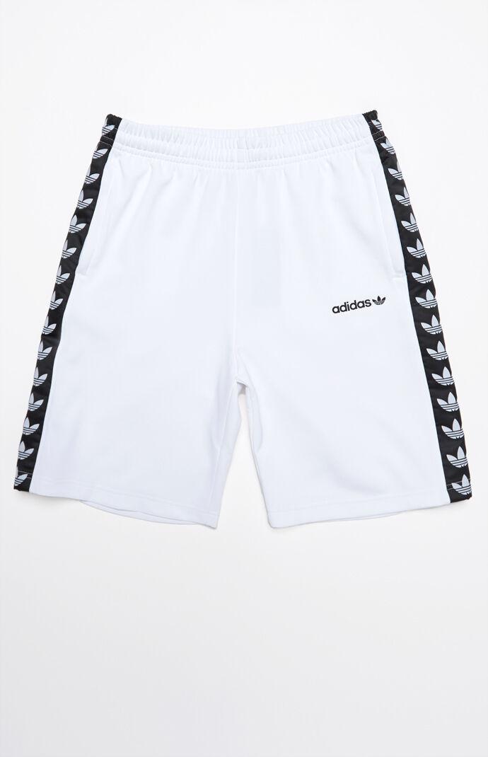Adidas tnt nastro bianco e nero pantaloncini a cordoncino attivo