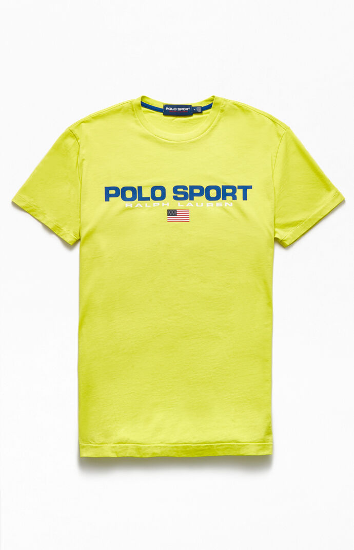 Yellow Polo Sport T-Shirt