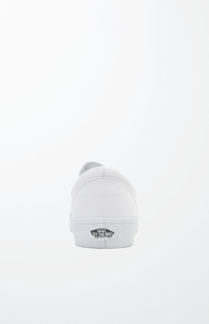 Classic Slip-On White Shoes