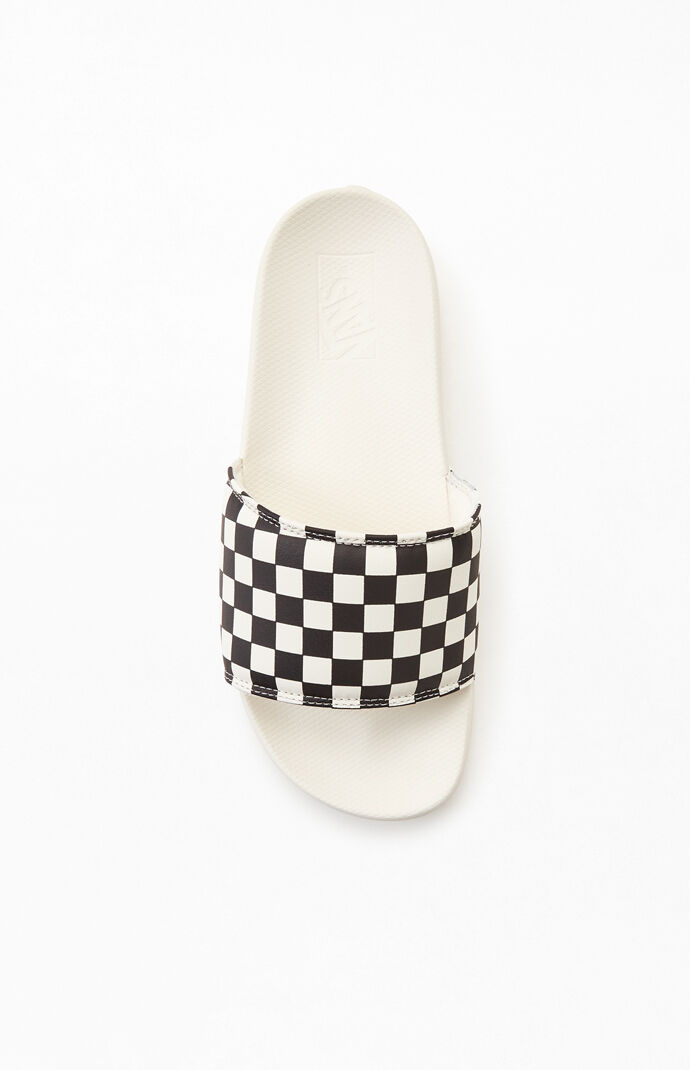 Checkered La Costa Slide Sandals