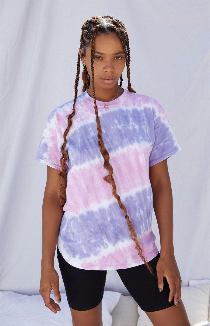 Tie-Dyed Sunburst T-Shirt