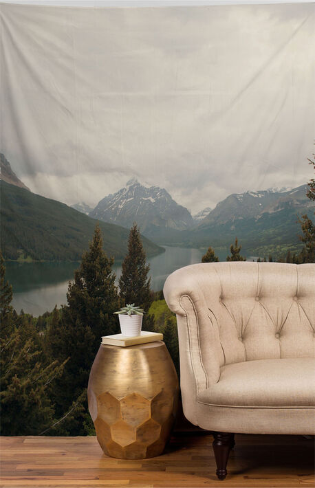 Summer In Montana Tapestry