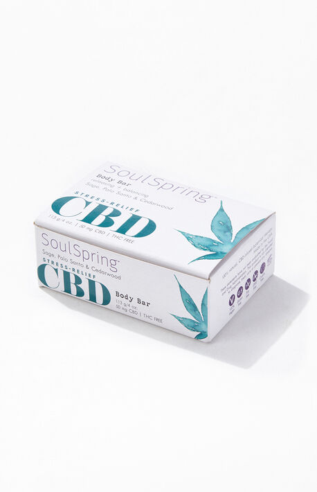Stress-Relief CBD Body Bar Soap
