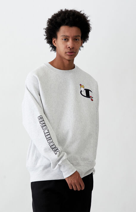 x Super Mario Bros. Crew Neck Sweatshirt
