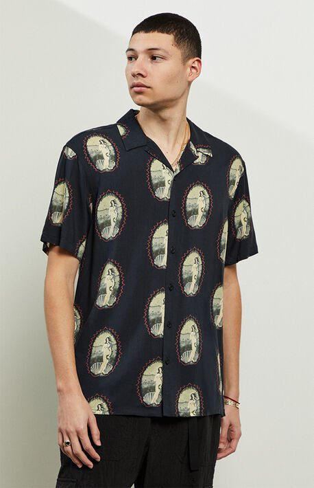 Kamy Short Sleeve Button Up Shirt