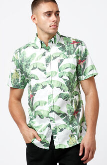 Paradise Short Sleeve Button Up Shirt