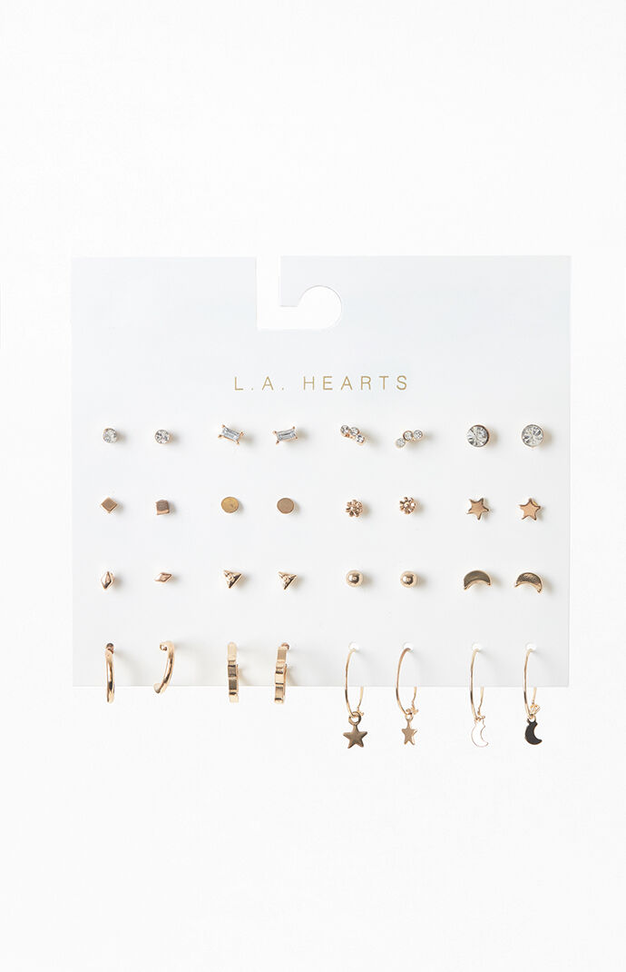 16 Pack Celestial Earrings