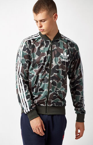 Camouflage Superstar Track Jacket