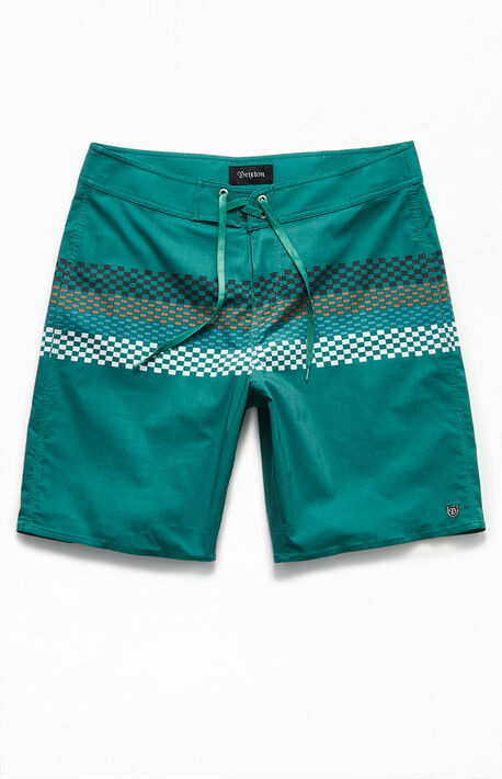 "Barge Striped 20"" Boardshorts"