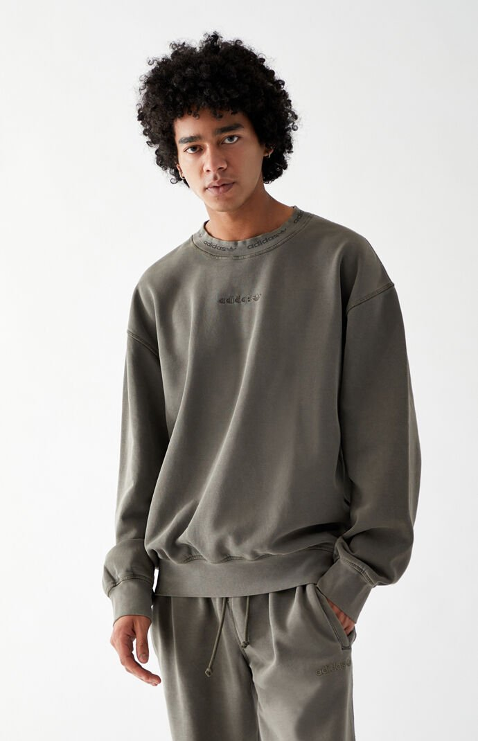 Overdyed Crew Neck Sweatshirt