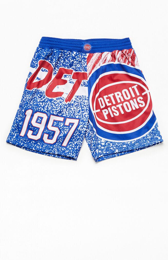 Detroit Pistons Jumbotron Shorts