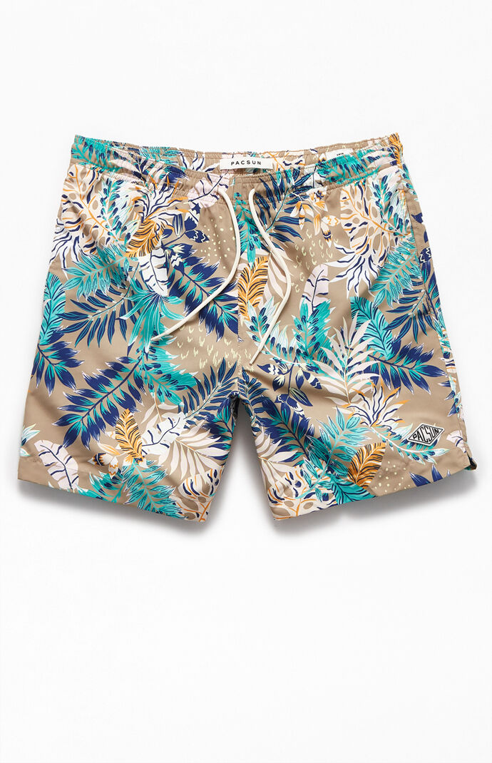 "Tropics 17"" Swim Trunks"