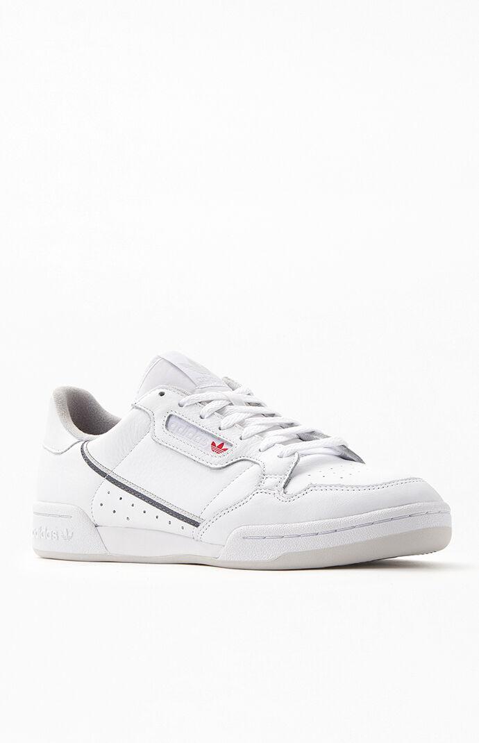 White \u0026 Grey Continental 80 Shoes | PacSun