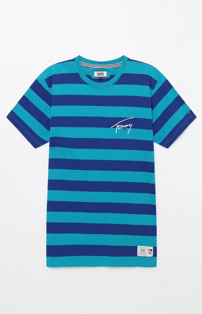 5601531858 Tommy Jeans Signature Stripe T-Shirt | PacSun