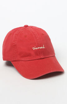 OG Script Sports Strapback Dad Hat