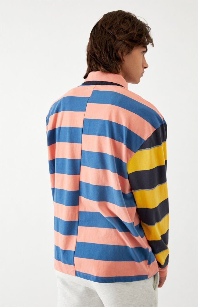 Mixt Striped Rugby Shirt