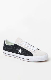 One Star Pro Speckled Black & White Shoes