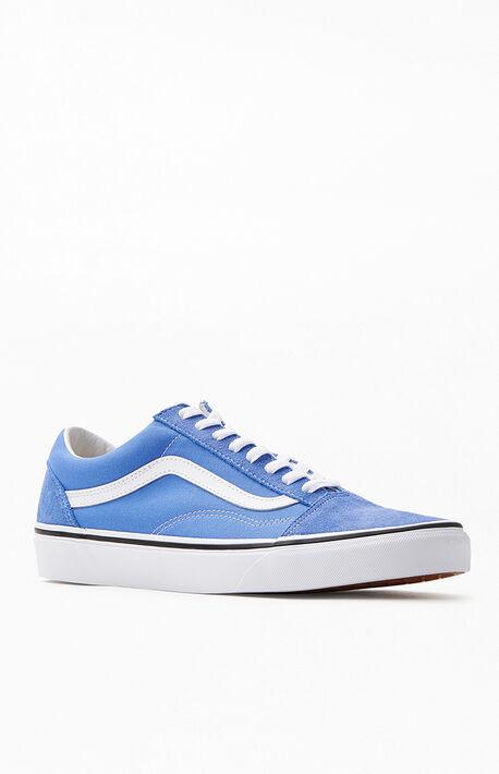 Light Blue Old Skool Shoes