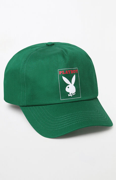 1bb2629f6e4 x Playboy Box Logo Snapback Hat