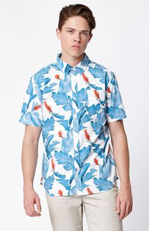 Bonsai Short Sleeve Button Up Shirt
