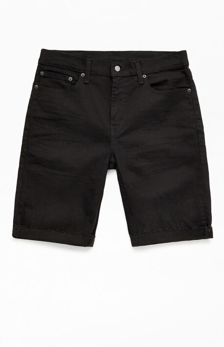 Black 511 Slim Cutoff Denim Shorts