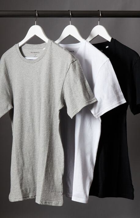 Three Pack Relaxed T-Shirt