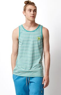 Odd Striped Tank Top