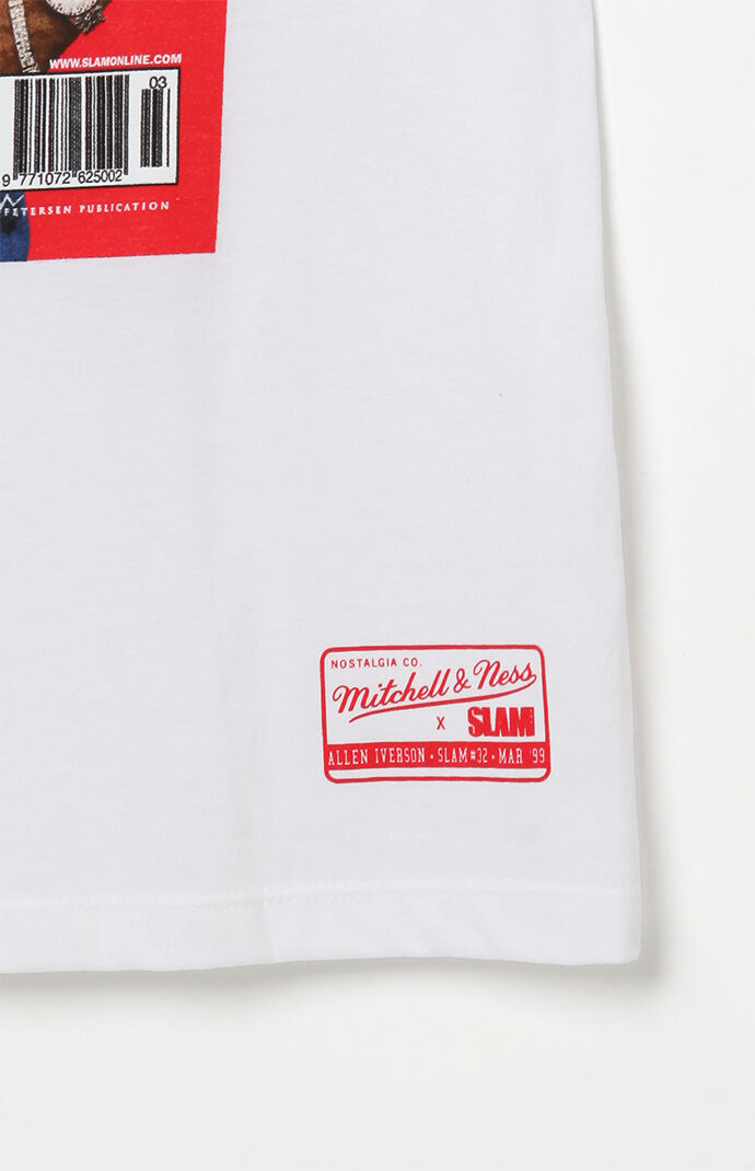 a0b35ff36a3 Mitchell and Ness Allen Iverson Slam Mag T-Shirt | PacSun