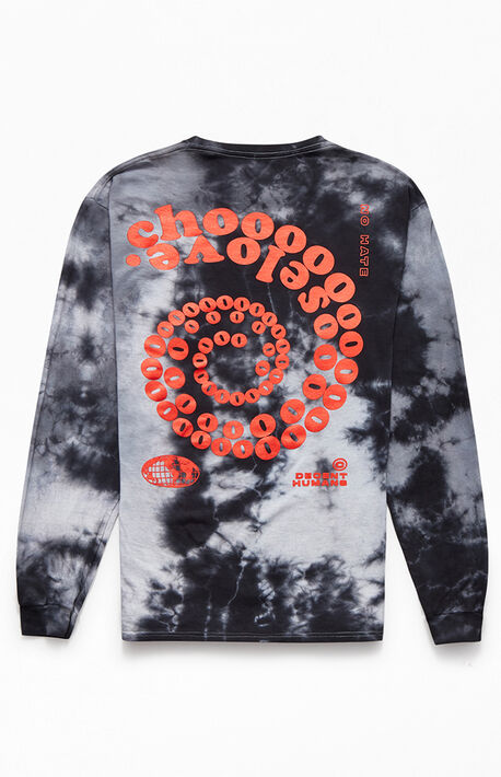 Choose Love Tie-Dyed Long Sleeve T-Shirt