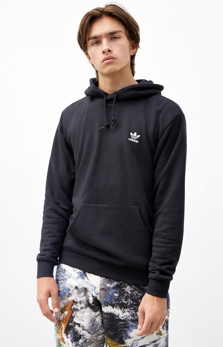 Black Essential Hoodie