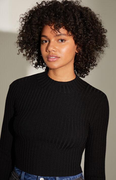 Basic Mock Neck Sweater
