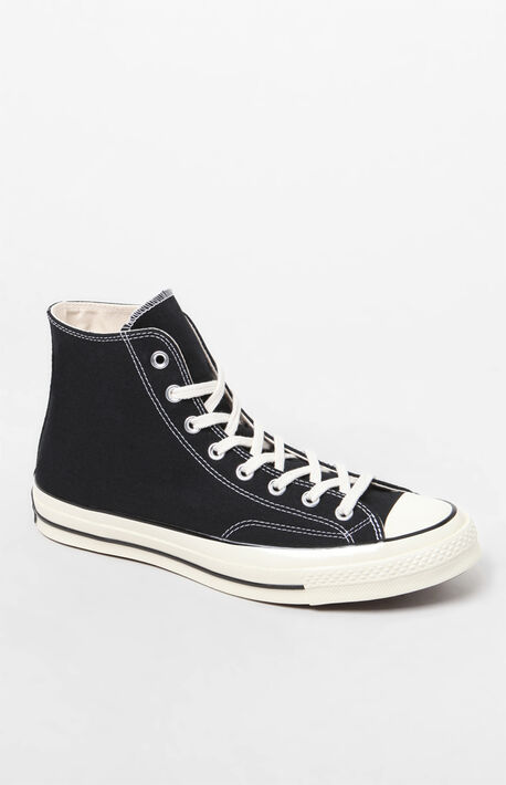Black Chuck 70 High Top Shoes