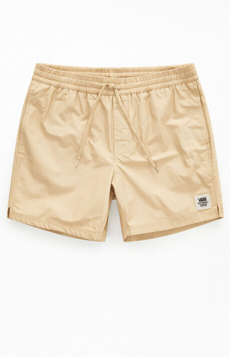 Tan Primary Volley Shorts