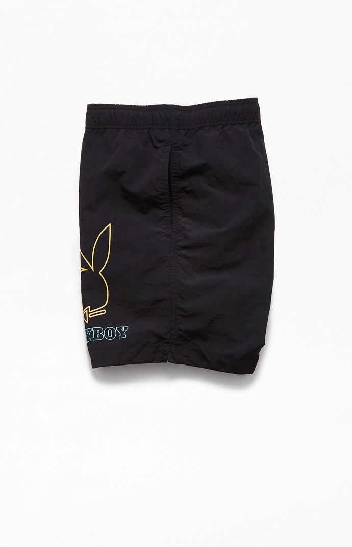 "By PacSun Signs 17"" Swim Trunks"