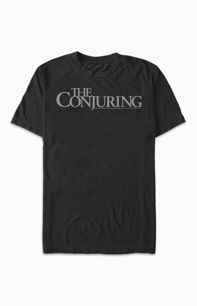 The Conjuring Title Logo T-Shirt