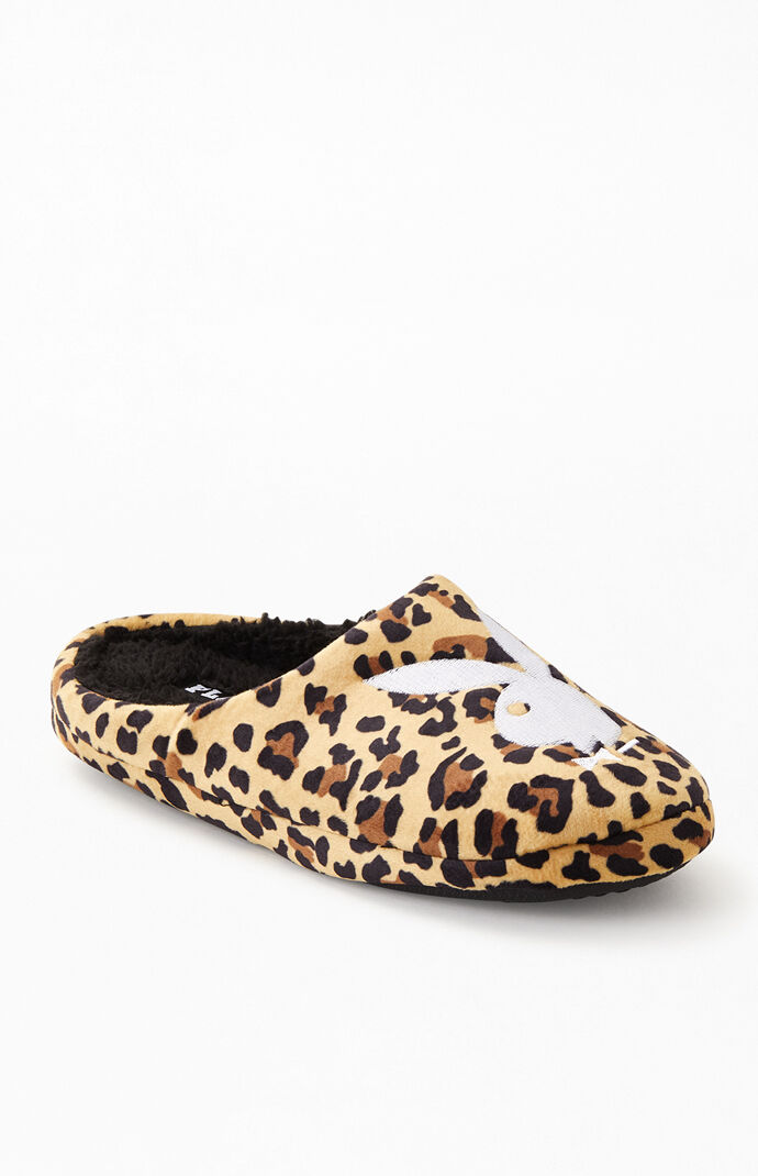 By PacSun Leopard Bunny Slippers