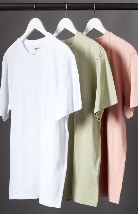 3-Pack Reece Regular T-Shirts