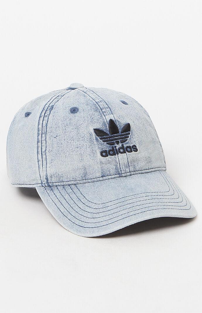 Adidas Tre-Foil White Checks Fit Slides & Caps / Beanies - 5 Pieces / Lot
