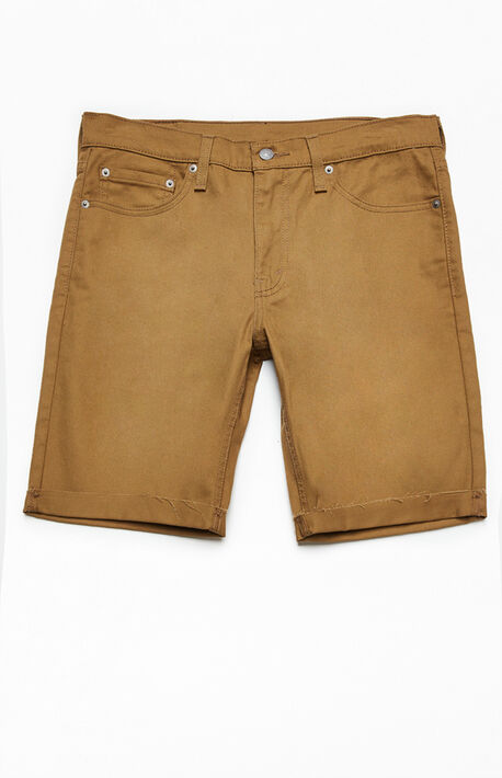 Tan 511 Cutoff Denim Shorts