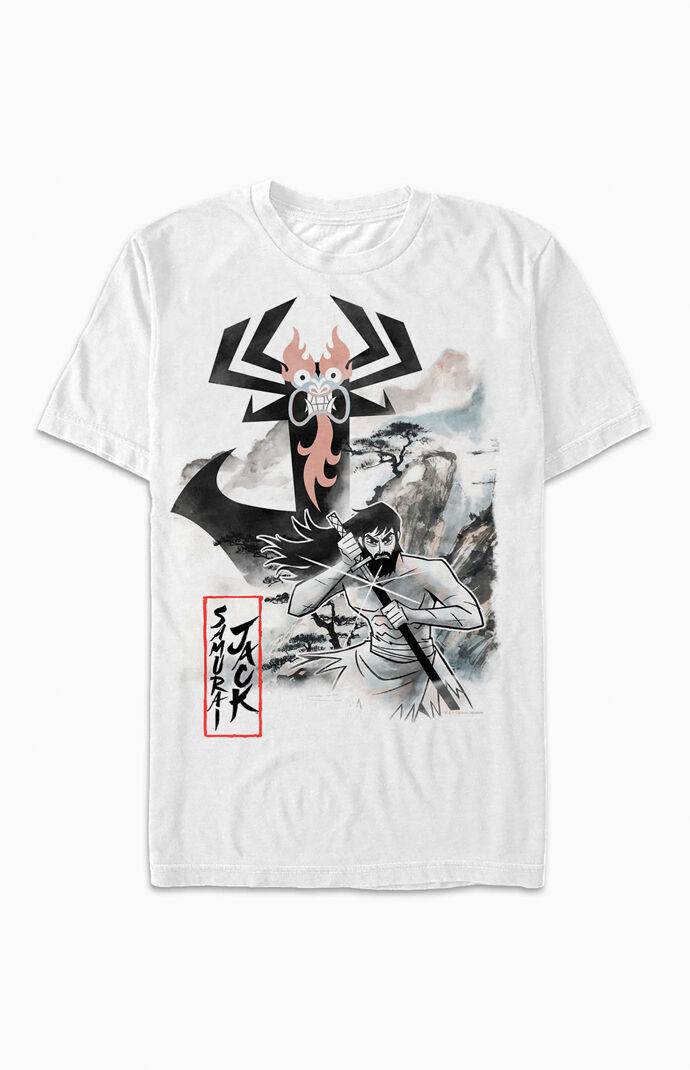 Samurai Jack Aku Sketch T-Shirt